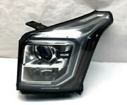 2017 Gmc Yukon Left Head Light Without Hid With Blue Tint Oem