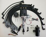 Small Cap Ford 5.0l 302 Efi To Carb Hei Distributor + 45k Coil + 8.5mm Wires Usa