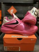 Nike Kd 4 Iv Sz 13 Aunt Pearl Bhm Weatherman Kevin Durant Black History Month Ds