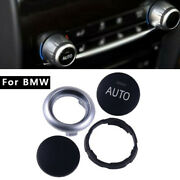Climate Control Button Knob Repair Kit For Bmw 5 6 7 Series X5 X6 Black + Silver