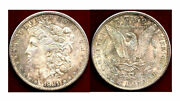 1881-s 1 Many Colors Mint Luster Morgan Dollar ++