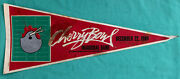 Michigan State Spartans Vs Army Cadets - Cherry Bowl Inaugural 1984 Game Pennant