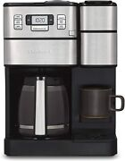 Cuisinart Coffee Center Grind And Brew 12-cup Coffee Maker And Single-serve - Ss-gb1
