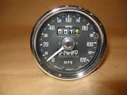Mgb Smith Speedometer Sn5227/12 For 1968-71 Mgb Mgbgt W Overdrive Refurbished