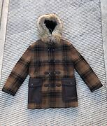 Tom Ford Shearling Lamb Hooded Coat Size 50