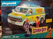 Playmobil Scooby-doo Mystery Machine Set Factory Sealed 70286