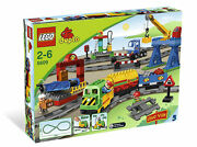 Lego 5609 Duplo Lego Ville Deluxe Train-new --see Discription---1 Pc Missing