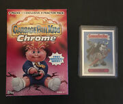 2013 Garbage Pail Kids Chrome Series 1 Nasty Nick Refractor 1a And Chrome 1 Box