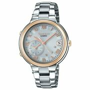 Casio Watch Shb-200asg-7ajf Sheen Voyage Time Ring Series Womenand039s