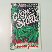 Vintage 1992 Paperback First Facsimile Edition Dare To Grow Yer Own Stone Book