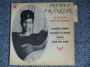 Aretha Franklin - In Person With Her Quartet - Muddy Water - 7 / 45t Ep 6220