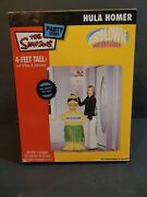 The Simpsons Party Stuff 4ft Tall Hula Homer Inflatable Tested Works