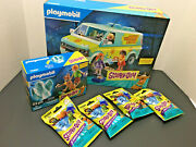 New Playmobil Scooby Doo The Mystery Machine, Ghost And 4 Mystery Packs Lot Sealed