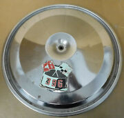 Gm Oem Air Cleaner Top Bb Chevy 1960-70and039s 17 Diameter Chrome