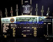 Comiskey Park 1979 White Sox 1959 Old Timers Game Scoreboard Color 8x10 Cc