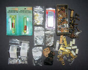Lot Mod T Ford, K-w And Other Ign Coil Parts - New/nos/good Used For Restoration