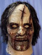 The Walking Dead Zombie Latex Mask -- Cosplay Costume Twd Life Size Prop -- L@@k