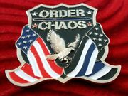 Challenge Coin Army Fort Riley 1st Id Large Order And Chaos Fidelis Ad Mortemandmdash