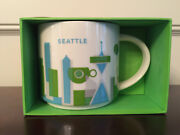 Starbucks You Are Here Collection Seattle Yah City Cup Coffee Mug 14 Oz Bnib