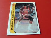1986 Dominique Wilkins Fleer Sticker 11 Hawks  Mint