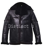 The Punisher Billy Russo Flying Real Shearling Black Jacket