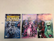 Snowman 1st Series 1995 1 2 3 1-3 Vf/vf+ Complete Set Hall Of Heroes/avatar