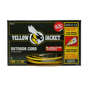 Yellow Jacket 100-ft. Outdoor Extension Cord W/ Lighted Ends