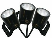 Kasco Marine Led Light Kit For Water Fountains 3 Fix. 11 Watts Ea 100 Ft Cord