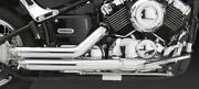 Vance And Hines Short Shots Staggered V-star 650 Xvs650/a All Years V18519