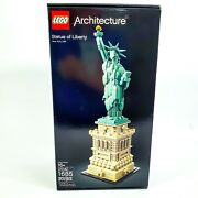 Lego Architecture Statue Of Liberty 21042 1685 Pieces New And Sealed