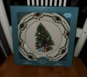 Lenox Christmas Trees Around The World Plate 1996 - Russia New In Box