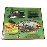 Great American Express Train Set 95157 By New Bright - 1988 Vintage Infra Red