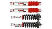 Rancho Front Quicklift Struts And Rs9000xl Rear Shocks For 2005-2018 Frontier 4wd
