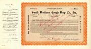 Smith Brothers Cough Drop Co., Inc. - Stock Certificate