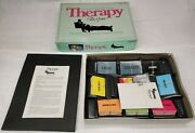 Vintage 1986 Board Game Therapy The Game By Pressman Never Played Boardgames