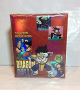 Artbox Dragonball Z Holochrome Archive Edition 24 Pack Booster Box - New, Sealed