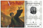 And039and039harry Potter And The Deathly Hallowsand039and039 1st Us Edition