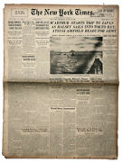 29 August 1945 ''new York Times'' Macarthur To Japan