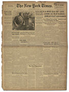 ''new York Times'' Newspaper From 4 August 1945