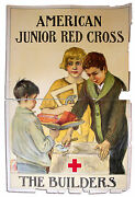 1920and039s Jr. American Red Cross Poster/ Anna Milo Upjohn
