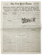 2 April 1945 Issue Of ''the New York Times''