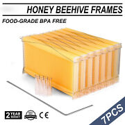 7 Pieces Bee Hive Beehive Raw Honey Hive Agriculture Beekeeping Equipment Tools