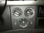 2007 Volvo Vnl Heater And Ac Temp Control 3 Knobs 2 Buttons