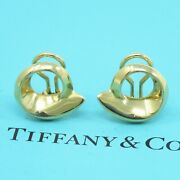 Nyjewel And Co. Frank Gehry 18k Yellow Gold Fish Clip On Earrings