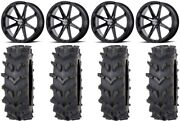 Msa Black Diesel 20 Wheels 36 Outback Maxand039d Tires Can-am Renegade Outlander