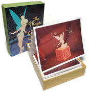 The Magic Of Tinkerbell Rare Vintage Walt Disney Gallery - 20 Note Cards