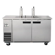 Falcon Food Service Direct Draw Stainless Steel Beer Dispenser - 3 Keg Capacity