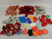 Lot Of 120 Vintage Cookie Cutters Plastic, Aluminum, Copper, Hrm, Amscan And More