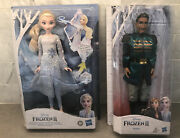 Disney Frozen 2 Magical Discovery Elsa Doll With Lights And Sounds And Mattias Doll