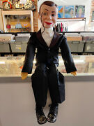 Vintage Charlie Mccarthy Ventriloquist Doll By Juro Novelty 1977